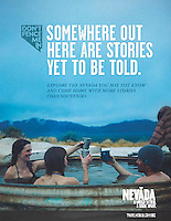 Print ad - Travel Nevada<br />