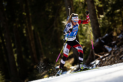 Katharina Innerhofer (AUT) during the Women 15 km Individual Competition at day 2 of IBU Biathlon World Cup 2019/20 Pokljuka, on January 23, 2020 in Rudno polje, Pokljuka, Pokljuka, Slovenia. Photo by Peter Podobnik / Sportida