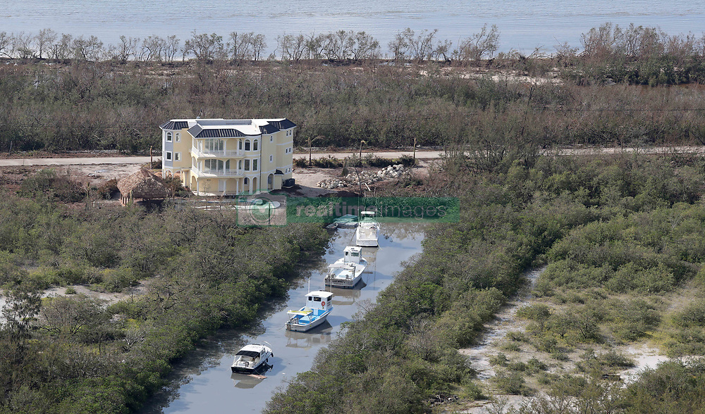 September 14, 2017 - Duck Key, Florida, U.S. - Some boats were spared after Hurricane Irma hit the Florida Keys.  (Credit Image: © Sun-Sentinel via ZUMA Wire)