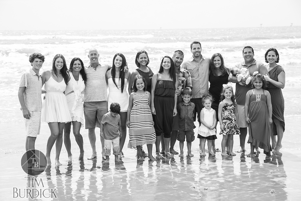 Family Portraits at Cinnamon Shore in Port Aransas, Texas by Tim Burdick Photography.