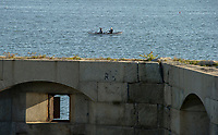 Bandaloop in Portland Maine and Kettle Cove.  ©2017 Karen Bobotas Photographer
