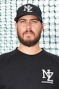 Riki Paewai.<br /> New Zealand Diamond Blacks Baseball Team headshots.<br /> Llloyd Elsmore Park, Pakuranga, Auckland, New Zealand. 4 February 2016.<br /> Copyright photo: Andrew Cornaga / www.photosport.nz