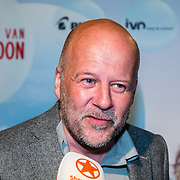 NLD/Amsterdam/20160716 - Groene loper première Meester Kikker, Diederik van Vleuten