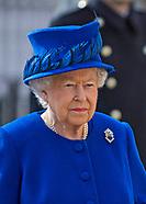 Queen Elizabeth Unveils Iraq & Afghanistan Memorial