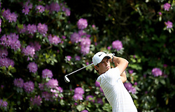 France's Adrien Saddier in action during day three of the 2018 BMW PGA Championship at Wentworth Golf Club, Surrey.