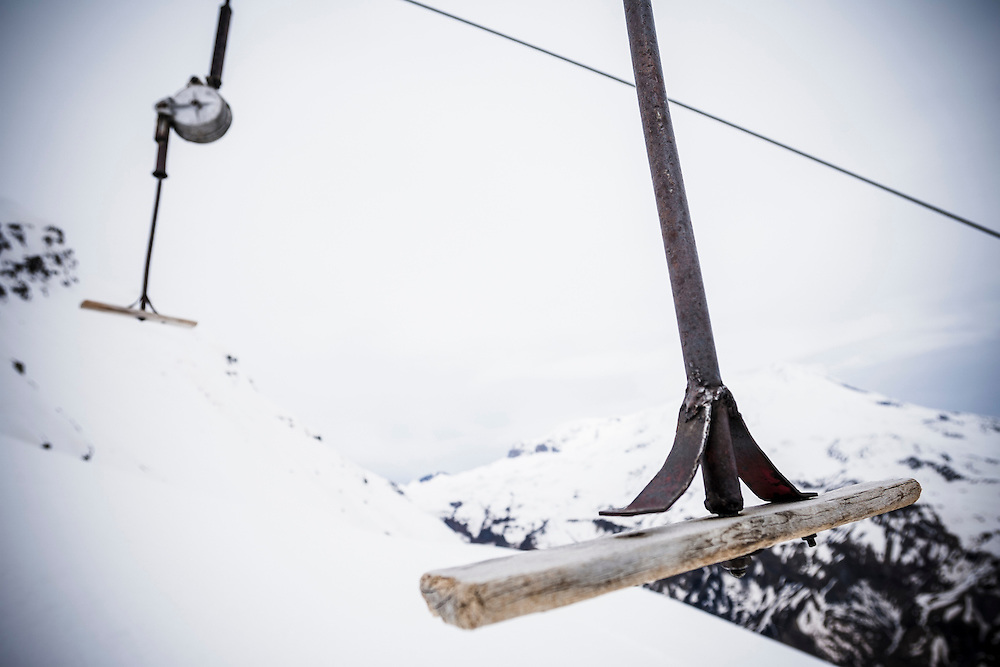 The lift, Mount Elbrus, Russia