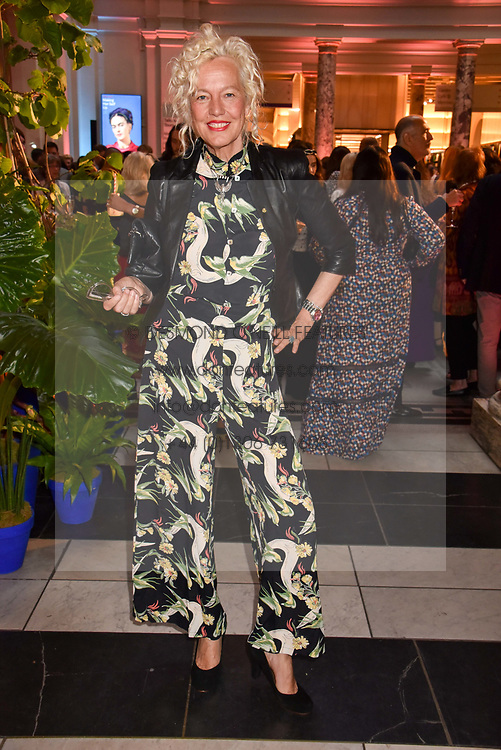 """Ellen von Unwerth at the opening of """"Frida Kahlo: Making Her Self Up"""" Exhibition at the V&A Museum, London England. 13 June 2018."""