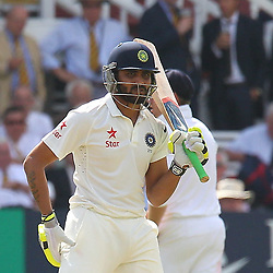 India's Ravindra Jadeja during the first day of the Investec 2nd Test match between England and India at Lords, London, 17th July 2014 © Phil Duncan | SportPix.org.uk