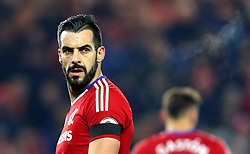 Alvaro Negredo of Middlesbrough - Mandatory by-line: Robbie Stephenson/JMP - 05/12/2016 - FOOTBALL - Riverside Stadium - Middlesbrough, England - Middlesbrough v Hull City - Premier League