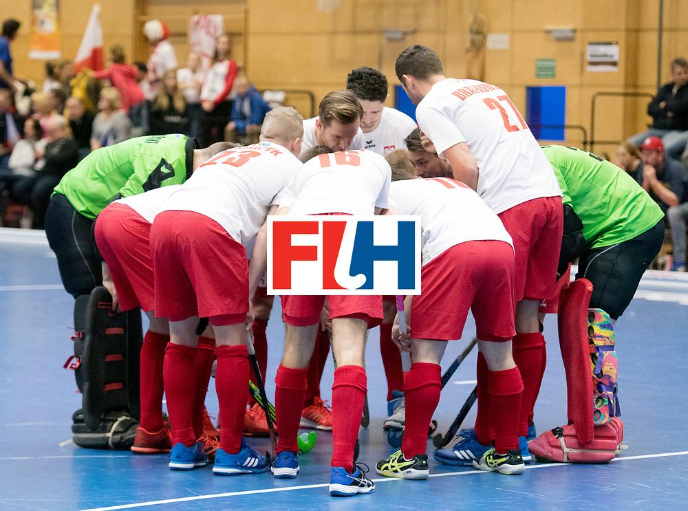 BERLIN - Indoor Hockey World Cup<br /> Czech Republic - Poland<br /> foto: Line Up<br /> WORLDSPORTPICS COPYRIGHT FRANK UIJLENBROEK