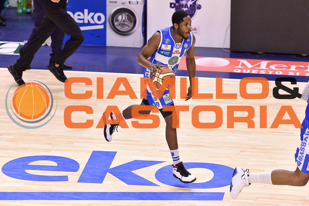 DESCRIZIONE : Campionato 2014/15 Serie A Beko Dinamo Banco di Sardegna Sassari - Grissin Bon Reggio Emilia Finale Playoff Gara4<br /> GIOCATORE : Jerome Dyson<br /> CATEGORIA : Palleggio Contropiede<br /> SQUADRA : Dinamo Banco di Sardegna Sassari<br /> EVENTO : LegaBasket Serie A Beko 2014/2015<br /> GARA : Dinamo Banco di Sardegna Sassari - Grissin Bon Reggio Emilia Finale Playoff Gara4<br /> DATA : 20/06/2015<br /> SPORT : Pallacanestro <br /> AUTORE : Agenzia Ciamillo-Castoria/GiulioCiamillo