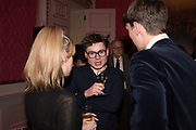 IMOGEN WOODBERRY, JAMES MARRIOT, ROBBIE SMITH , Literary Review  40th anniversary party and Bad Sex Awards,  In & Out Club, 4 St James's Square. London. 2 December 2019