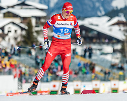 21.02.2019, Langlauf Arena, Seefeld, AUT, FIS Weltmeisterschaften Ski Nordisch, Seefeld 2019, Langlauf, Herren, Sprint, im Bild Alexander Bolshunov (RUS) // Alexander Bolshunov of Russian Federation during the men's Sprint competition of the FIS Nordic Ski World Championships 2019. Langlauf Arena in Seefeld, Austria on 2019/02/21. EXPA Pictures © 2019, PhotoCredit: EXPA/ Stefan Adelsberger