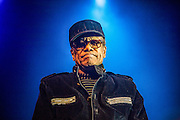 Bobby Womack plays the first set of the night accompianed by Damon Albarm (Blur & Gorillaz)