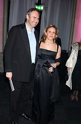 MR & MRS WILLIAM CASH she was Ilaria Bulgari at the Conservative Party's Black & White Ball held at Old Billingsgate, 16 Lower Thames Street, London EC3 on 8th February 2006.<br />