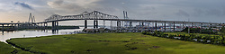 Bridges of the Cooper River in Charleston, South Carolina.