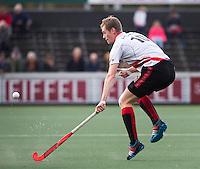 AMSTELVEEN - Mirco Pruijser van Amsterdam tijdens de hoofdklasse hockeywedstrijd tussen de mannen van Amsterdam en Rotterdam (4-3). COPYRIGHT KOEN SUYK