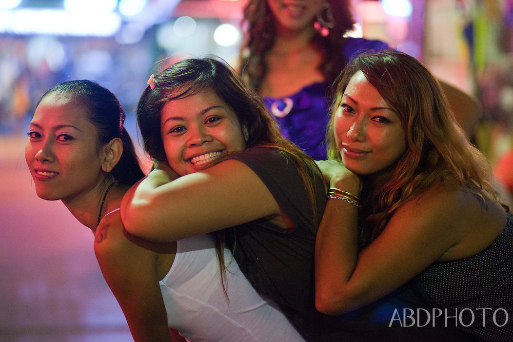 Girls Bar Street Hua Hin Phetchaburi Thailand