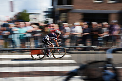Lucinda Brand (NED) speeds into the final lap at Boels Ladies Tour 2018 - Stage 4, a 124.3km road race from Stramproy to Weert, Netherlands on August 31, 2018. Photo by Sean Robinson/velofocus.com