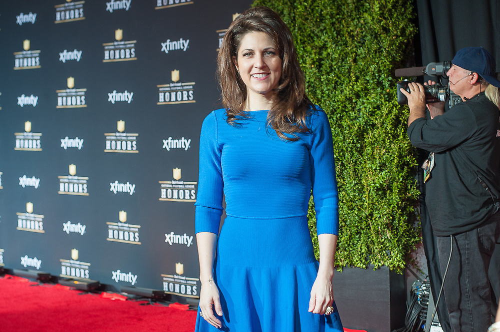 Rita Benson Leblanc  posing at  the Mahalia Jackson Theatre NFL Honors in New Orleans, Louisiana on Feb.2 2013.