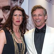 NLD/Amsterdam//20140330 - Filmpremiere Lucia de B. , Isa Hoes en Barry Atsma