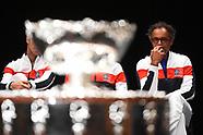 Davis Cup Draw Ceremony, 1 Feb 2018