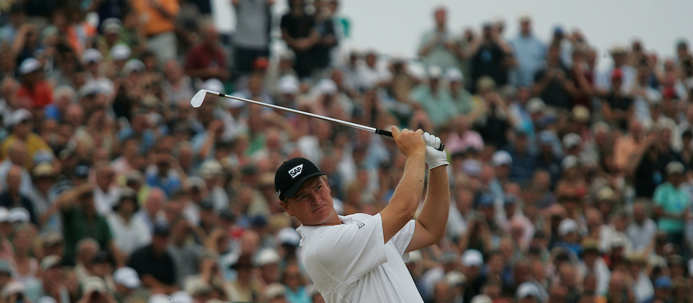 Ernie Els during the third round on 22nd July 2006<br /> The Open Championship 2006, Royal Liverpool GC, Hoylake, England,UK.<br /> Picture Credit: Mark Newcombe / visionsingolf.com