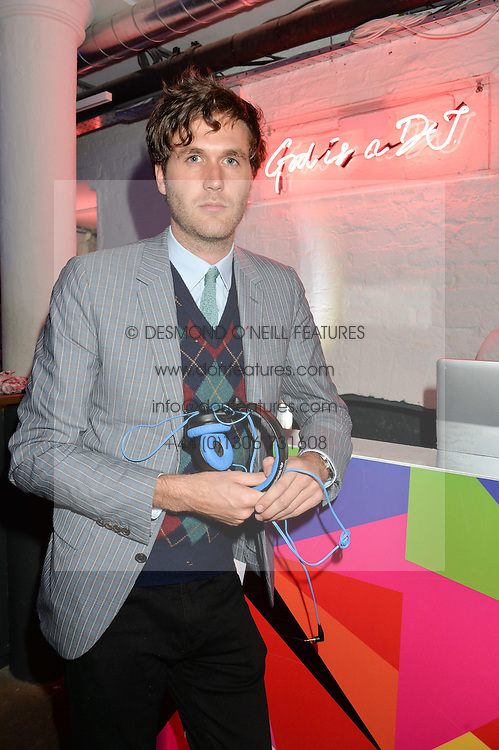 ISAAC FERRY at Light Up Your Life - a party hosted by Lillingston held at Lights of Soho, 35 Brewer Street, London on 1st October 2015.
