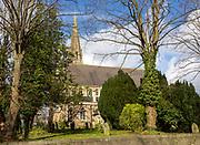Church of Saint Mark in the Railway village, Swindon, Wiltshire, England, UK built 1845