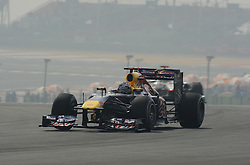 29.10.2011, Jaypee-Circuit, Noida, IND, F1, Grosser Preis von Indien, Noida, im BildSebastian Vettel (GER), Red Bull Racing // during the Formula One Championships 2011 Large price of India held at the Jaypee-Circui 2011-10-29  EXPA Pictures © 2011, PhotoCredit: EXPA/ nph/  Dieter Mathis       ****** out of GER / CRO  / BEL ******