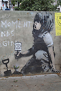 Banksy at Marble Arch