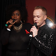 X Factor 2016: Anelisa Lamola and Tom Knight takes the stage at Muse in Soho for one night to help raise money for GMFA – The gay men's health charity and their HIV prevention and stigma-challenging work on 1st December 2016 in Soho,London,UK. Photo by See Li
