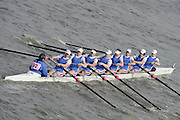 Putney/Barnes,  Great Britain,  Newcastle University, - 2008 Head of the River Race. Raced from Mortlake to Putney, over the Championship Course.  15/03/2008  [Mandatory Credit. Peter Spurrier/Intersport Images] Rowing Course: River Thames, Championship course, Putney to Mortlake 4.25 Miles,