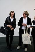MR. AND MRS. FRANK COHEN, Frieze Art Fair 2008. Regent's Park. London. 15 October 2008 *** Local Caption *** -DO NOT ARCHIVE -Copyright Photograph by Dafydd Jones. 248 Clapham Rd. London SW9 0PZ. Tel 0207 820 0771. www.dafjones.com