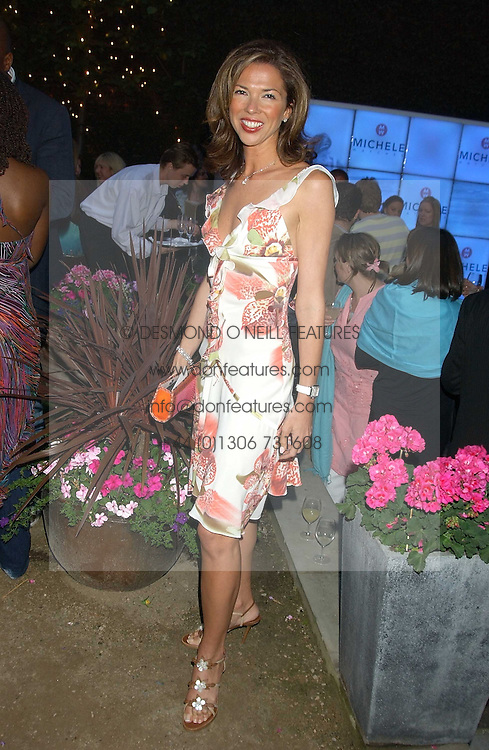 HEATHER KERZNER at Michele Watches Kaleidoscope Summer Garden Party held at Home House, Portman Square, London on 15th June 2005.<br /><br />NON EXCLUSIVE - WORLD RIGHTS