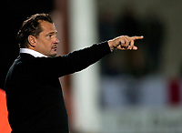 Football -League 2 - Burton Albion  vs. Aldershot Town- Aldershot manager Dean Holdsworth  at The Pirelli Stadium.