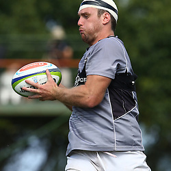 DURBAN, SOUTH AFRICA, 25 January 2016 -  Dave McDuling during The Cell C Sharks Pre Season training for the 2016 Super Rugby Season at Growthpoint Kings Park in Durban, South Africa. (Photo by Steve Haag)<br /> images for social media must have consent from Steve Haag