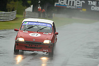 #27 Dan Willars Rover Metro GTI during the MGCC Drayton Manor Park MG Metro Cup at Oulton Park, Little Budworth, Cheshire, United Kingdom. September 03 2016. World Copyright Peter Taylor/PSP.