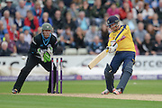 Adam Wheater during the NatWest T20 Blast Quarter Final match between Worcestershire County Cricket Club and Hampshire County Cricket Club at New Road, Worcester, United Kingdom on 14 August 2015. Photo by David Vokes.