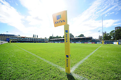 A general view of the Recreation Ground pitch - Mandatory byline: Patrick Khachfe/JMP - 07966 386802 - 17/09/2016 - RUGBY UNION - The Recreation Ground - Bath, England - Bath Rugby v Worcester Warriors - Aviva Premiership.