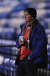 Bristol City fan - Photo mandatory by-line: Dougie Allward/JMP - Mobile: 07966 386802 - 06/01/2015 - SPORT - football - Gillingham - Priestfield Stadium - Gillingham v Bristol City - Johnstone Paint Trophy - Area final