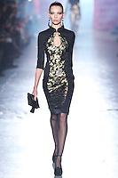 Vika Falileeva walks down runway for F2012 Jason Wu's collection in Mercedes Benz fashion week in New York on Feb 10, 2012 NYC