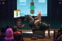 Barbro Ask Upmark dressage simulator<br /> Global Dressage Forum - Academy Bartels <br /> Hooge Mierde 2012<br /> © Dirk Caremans