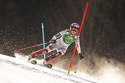 Maren Skjoeld (NOR) during the Ladies' Slalom at 56th Golden Fox event at Audi FIS Ski World Cup 2019/20, on February 16, 2020 in Podkoren, Kranjska Gora, Slovenia. Photo by Matic Ritonja / Sportida