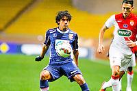 Yeltsin Ignacio Tejeda Valverde / Lucas Ocampos  - 21.01.2015 - Monaco / Evian Thonon   - Coupe de France 2014/2015<br /> Photo : Sebastien Nogier / Icon Sport