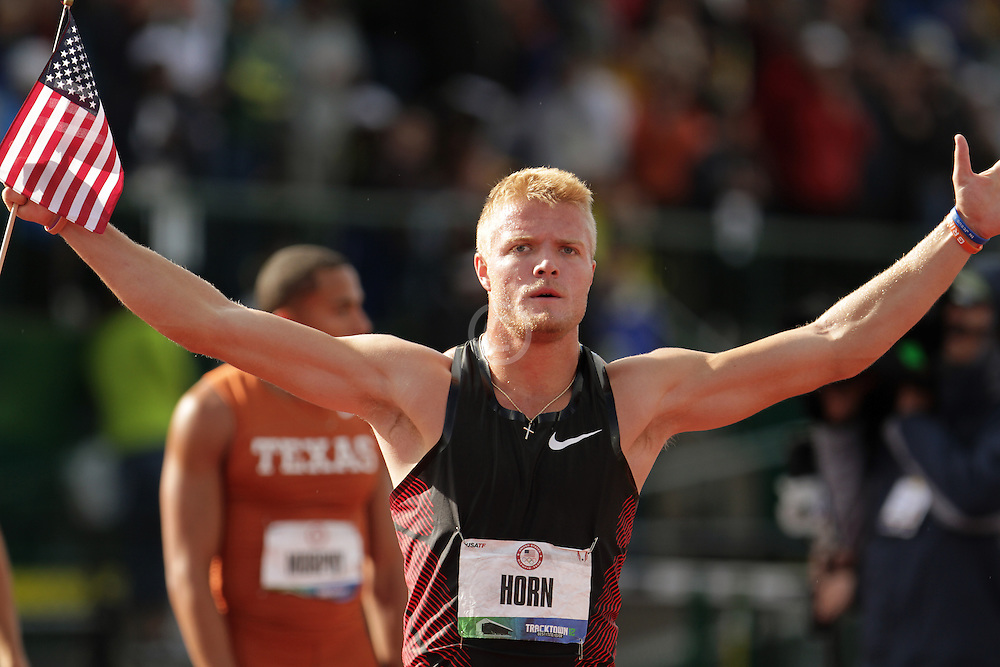Olympic Trials Eugene 2012: Decathlon, Gray Horn