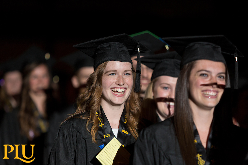 PLU Commencement on Saturday, May 23, 2015. (Photo: John Froschauer/PLU)