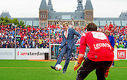 King Willem Alexander takes a penalty against goalie opens Saturday September 12 the Homeless World