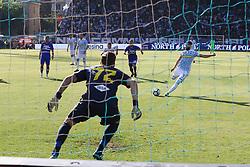 """Foto LaPresse/Filippo Rubin<br /> 20/05/2018 Ferrara (Italia)<br /> Sport Calcio<br /> Spal - Sampdoria - Campionato di calcio Serie A 2017/2018 - Stadio """"Paolo Mazza""""<br /> Nella foto: GOAL MIRCO ANTENUCCI (SPAL)<br /> <br /> Photo LaPresse/Filippo Rubin<br /> May 20, 2018 Ferrara (Italy)<br /> Sport Soccer<br /> Spal vs Sampdoria - Italian Football Championship League A 2017/2018 - """"Paolo Mazza"""" Stadium <br /> In the pic: GOAL MIRCO ANTENUCCI (SPAL)"""
