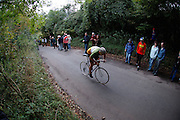 The Cat and Bec hillclimb on the North Downs in Kent claims to be the world's oldest bicycle race.